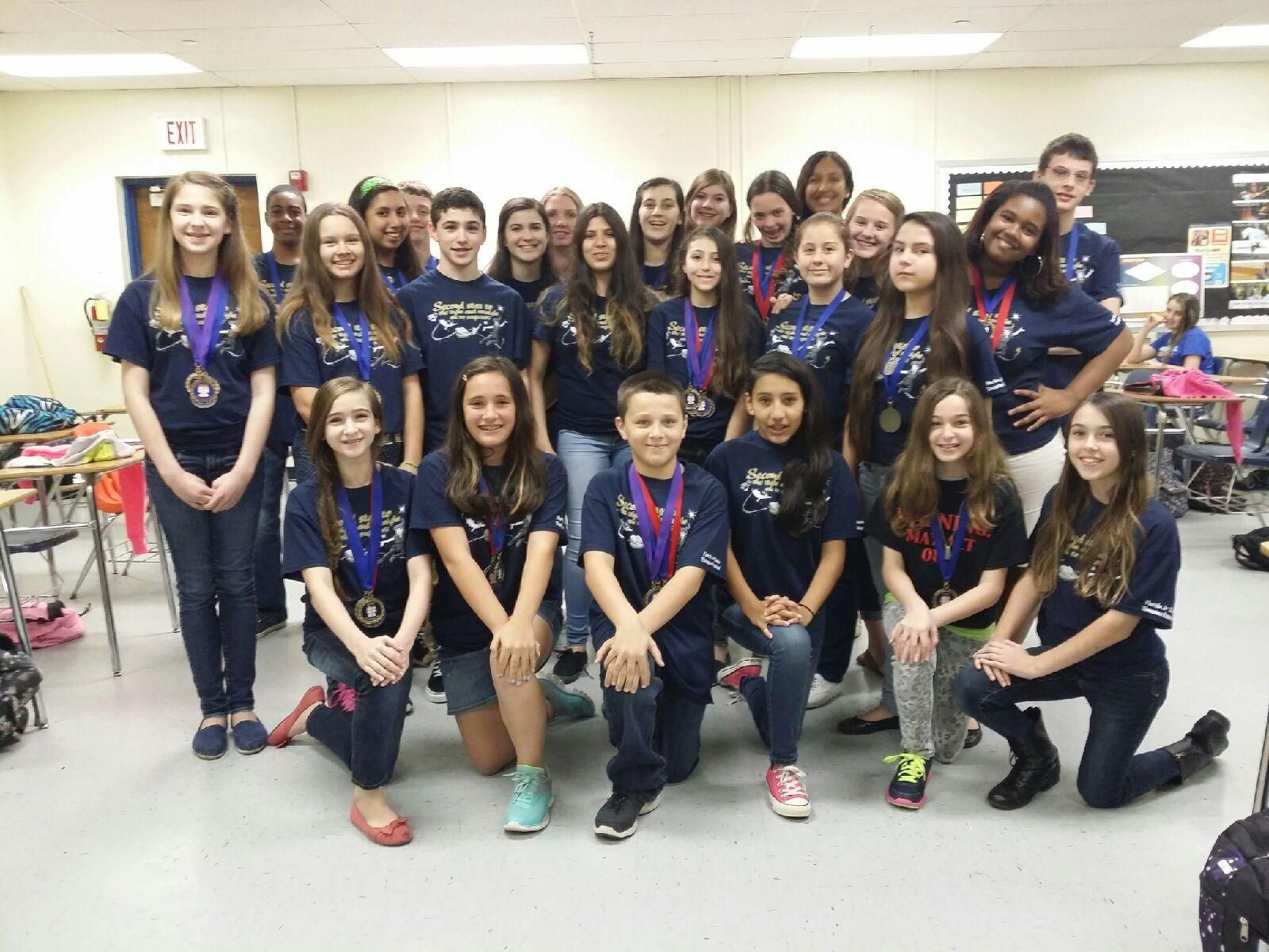Ramblewood Middle School Drama program receives honors at the ...